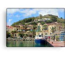 Le West Indies Mall in St. Martin  Metal Print