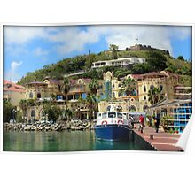 Le West Indies Mall in St. Martin  Poster