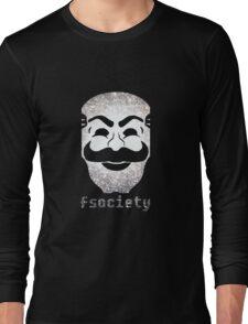 Mr Fsociety Long Sleeve T-Shirt