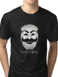 Mr Fsociety Tri-blend T-Shirt