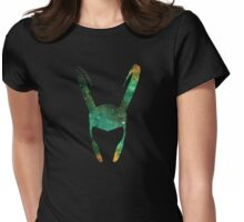 Trickster Space Womens Fitted T-Shirt
