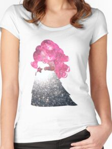 Rose Space Women's Fitted Scoop T-Shirt