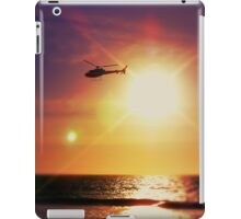 Helicopter Semi-Photobomb iPad Case/Skin