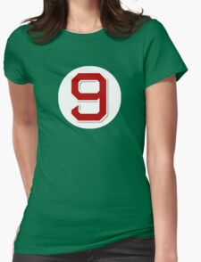 #9 Retired Womens Fitted T-Shirt