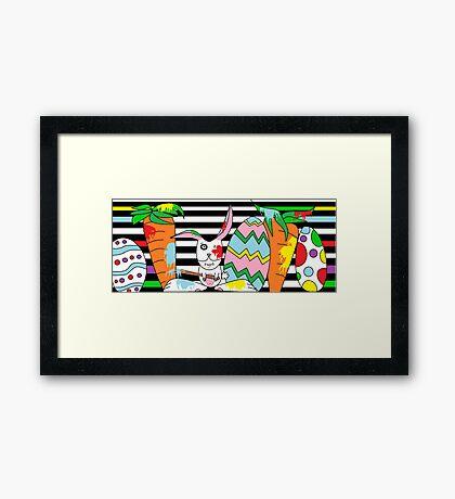 Silly Rabbit Framed Print