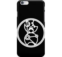 Time Lord - Circular Gallifreyan iPhone Case/Skin