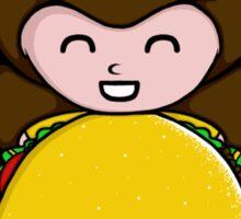 Taco Belle Sticker