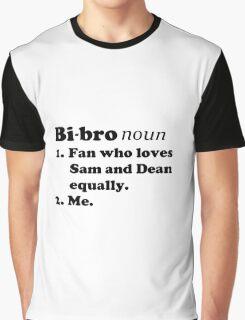 Bi-bros love Sam and Dean Graphic T-Shirt