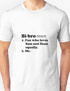 Bi-bros love Sam and Dean Unisex T-Shirt