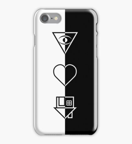 The Neighbourhood (black and white) iPhone Case/Skin