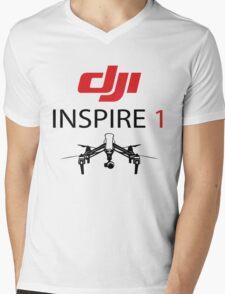 DJI INSPIRE1 PILOT Mens V-Neck T-Shirt