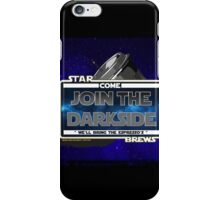 Come join the Darkside - The Coffee Wars - Jeronimo Rubio Photography and Art 2016 iPhone Case/Skin