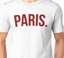 Paris WORLD TOUR  Unisex T-Shirt