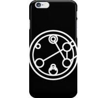 Companion - Circular Gallifreyan iPhone Case/Skin