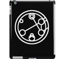 Companion - Circular Gallifreyan iPad Case/Skin