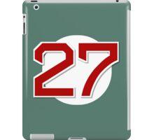 #27 Retired iPad Case/Skin