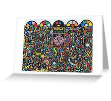 Let Us Live Together Happy Greeting Card