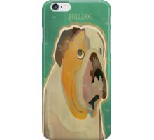 the bulldog  iPhone Case/Skin