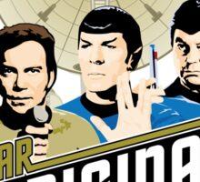 Star Trek TOS Trio Sticker