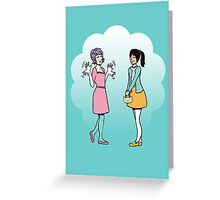 Flappiness  (no type) Greeting Card