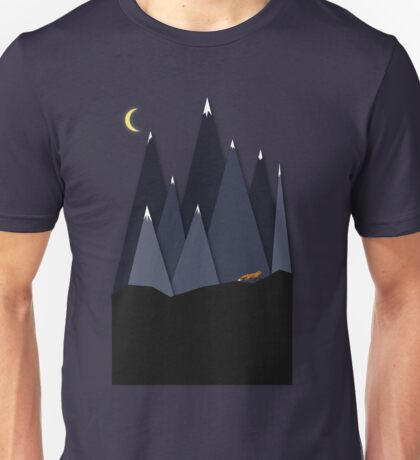 Fox and Mountains Unisex T-Shirt