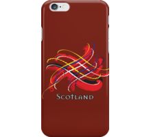 Scotland Tartan Twist iPhone Case/Skin