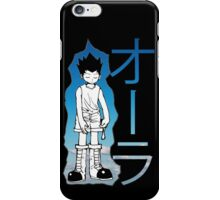 HUNTER X HUNTER GON AURA NEN iPhone Case/Skin