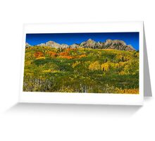 AUTUMN SHOWCASE Greeting Card