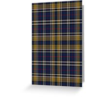 02739 Chatham County, Georgia Fashion Tartan  Greeting Card