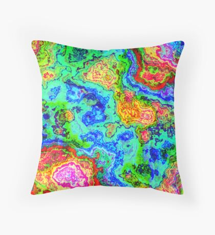 Little Bit Funky Pillow Throw Pillow