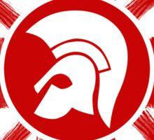 Trojan Union Jack  Sticker
