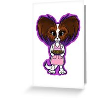 Papillion Chief  Greeting Card