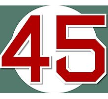 #45 Retired Photographic Print