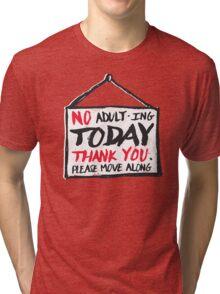 No Thank You Tri-blend T-Shirt