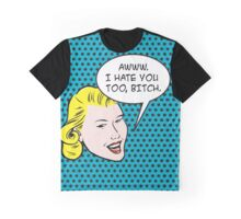 Pop art - I hate you too Graphic T-Shirt