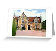 The Stag Inn, Mentmore Greeting Card