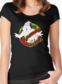 The Ghostbusters of Salt Lake Logo 2 Women's Fitted Scoop T-Shirt