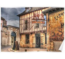 Cellier St Pierre Troyes France Poster