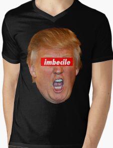 Trump Imbecile Mens V-Neck T-Shirt