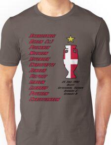 Denmark Euro 1992 Winners Unisex T-Shirt