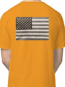 American Flag black-and-white  Classic T-Shirt