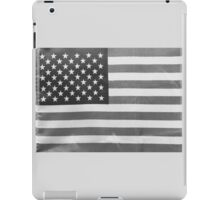 American Flag black-and-white  iPad Case/Skin