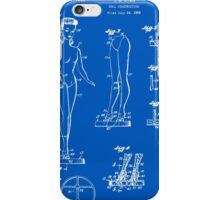 Barbie Doll Patent - Blueprint iPhone Case/Skin