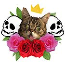 cat and roses by SHIT! CLOTHING