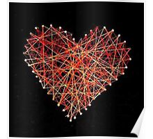 String heart Poster