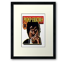 Plump Friction Framed Print