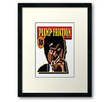 Plump Friction Framed Print