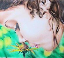 Flower child by WaltCueto