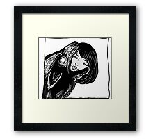 When The Wolf Won Framed Print