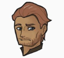 Chibi Jorah Mormont - Transparent BG Sticker by BlackLemonJuice